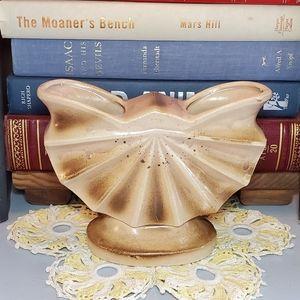 SOLD▪︎Vtg Seashell Nautical Ceramic Planter Japan